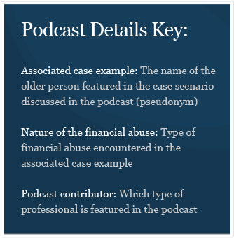 Podcasts Key